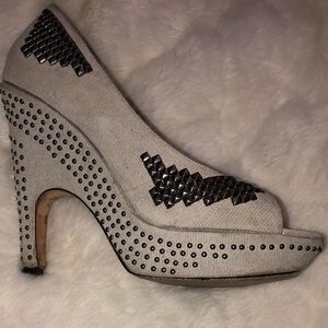 Dolce vita studded heels